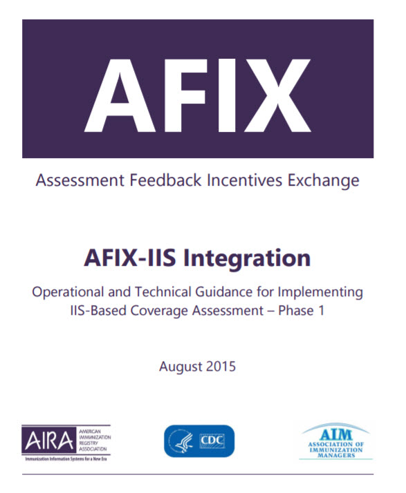 AFIX-IIS Integration: Operational and Technical Guidance for Implementing IIS-Based Coverage Assessment – Phase I