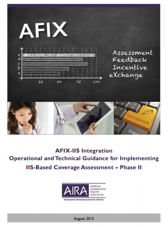 AFIX-IIS Integration: Operational and Technical Guidance for Implementing IIS-Based Coverage Assessment – Phase II