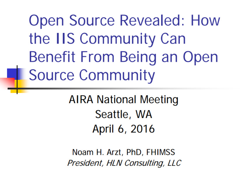 Open Source Revealed: How the IIS Community Can Benefit From Being an Open Source Community