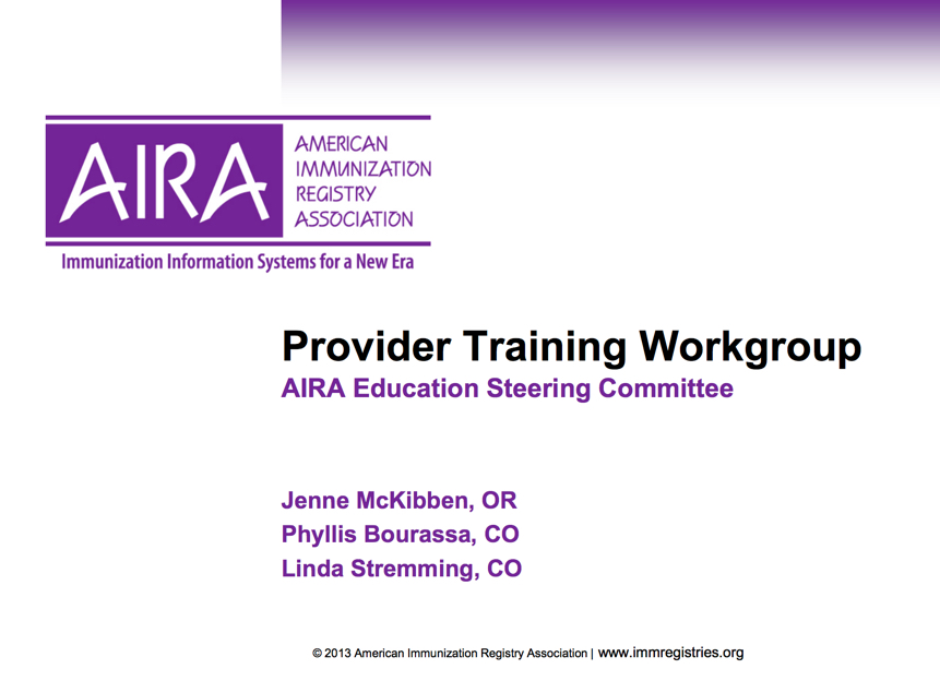 Do you have IIS Training Questions? Ask AIRA!
