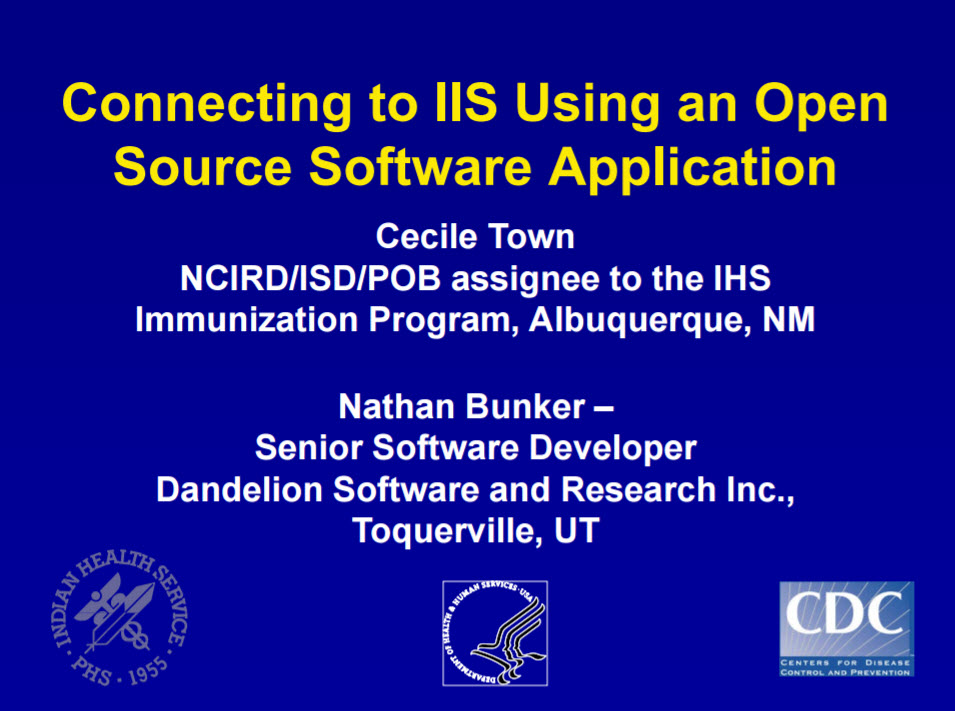 Connecting to IIS Using an Open Source Software Application