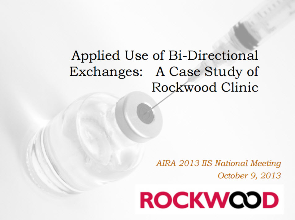 Applied Use of Bidirectional Exchanges: A Case Study of Rockwood Clinic