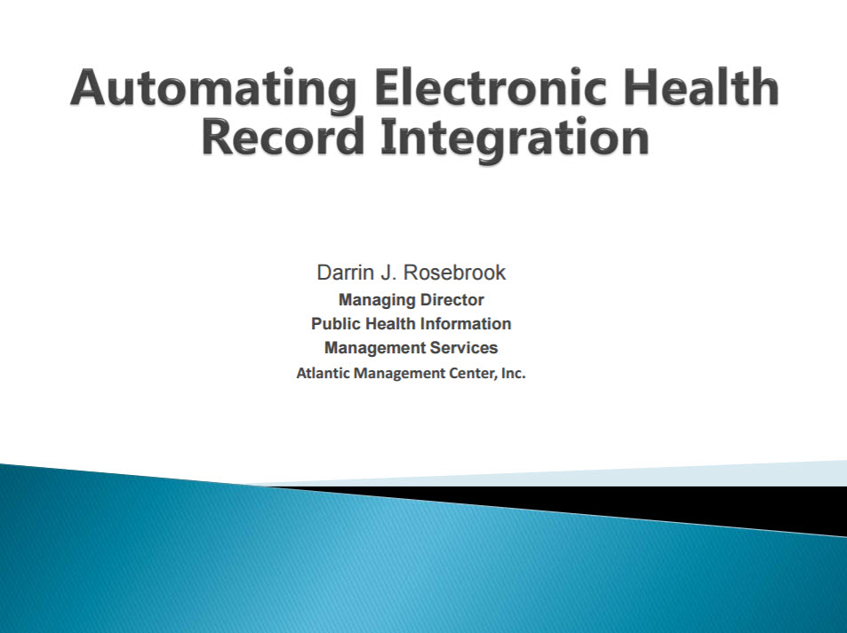 Automating Electronic Health Record (EHR) Integration