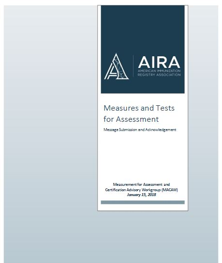 Measures and Tests for Assessment - Message Submission and Acknowledgement