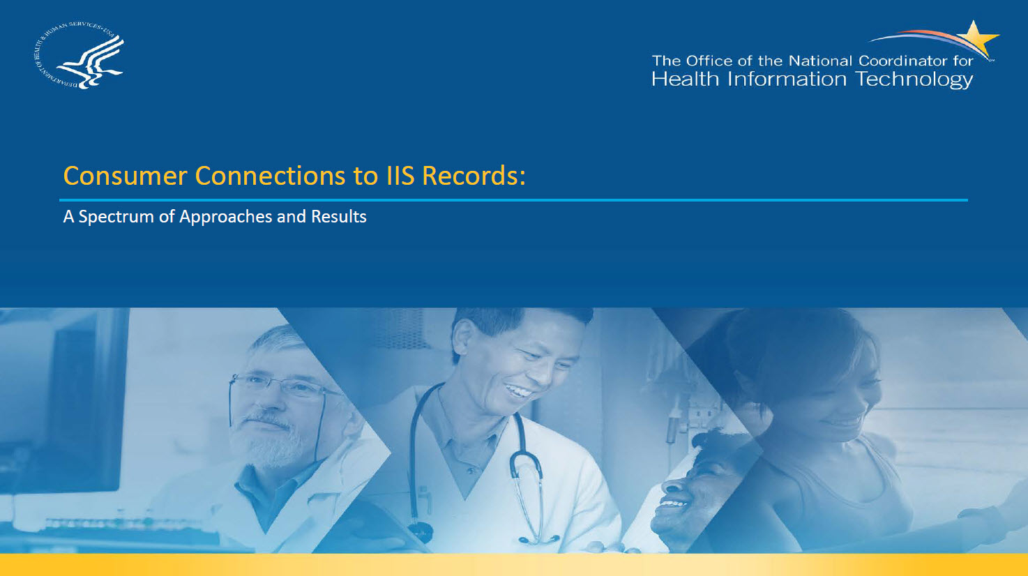 Consumer Connections to IIS Records: A Spectrum of Approaches and Results