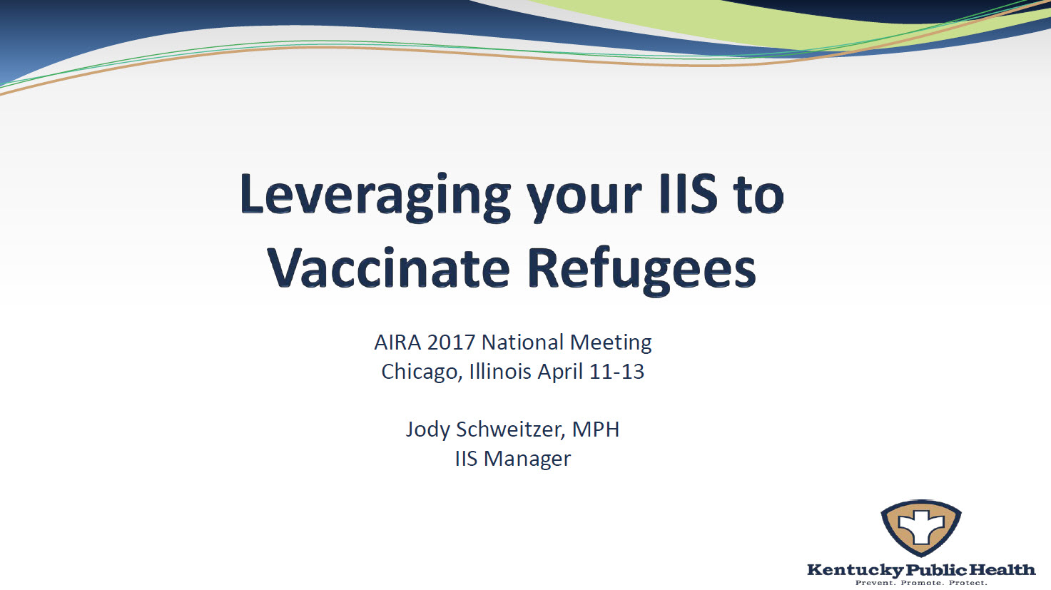 Leveraging Your IIS to Vaccinate Refugees