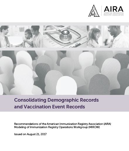 Consolidating Demographic Records and Vaccination Event Records