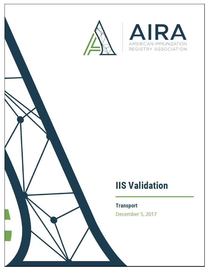 IIS Validation Measures and Tests for Transport