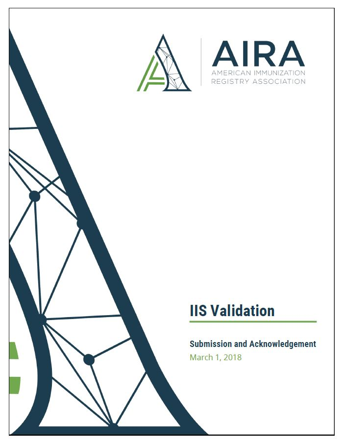 IIS Validation Measures and Tests for Submission and Acknowledgement