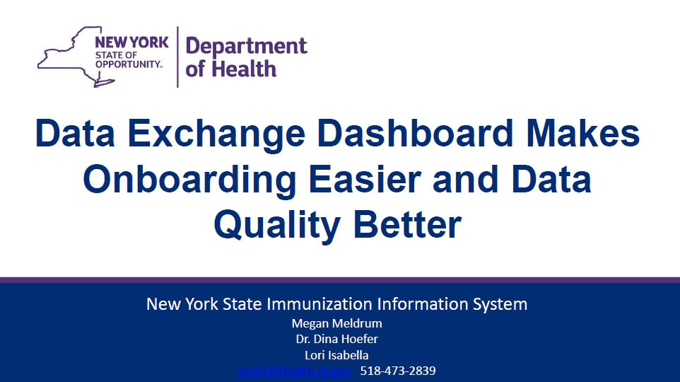 Data Exchange Dashboard Makes Onboarding Easier and Data Quality Better