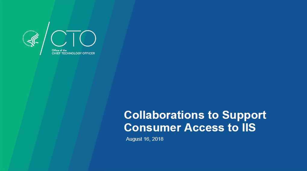 Collaborations to Support Consumer Access to IIS