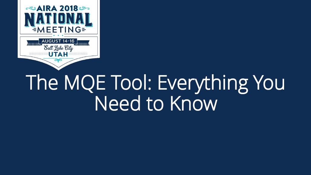 The MQE Tool: Everything You Need to Know