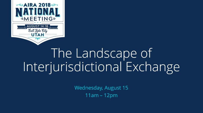 The Landscape of Interjurisdictional Exchange