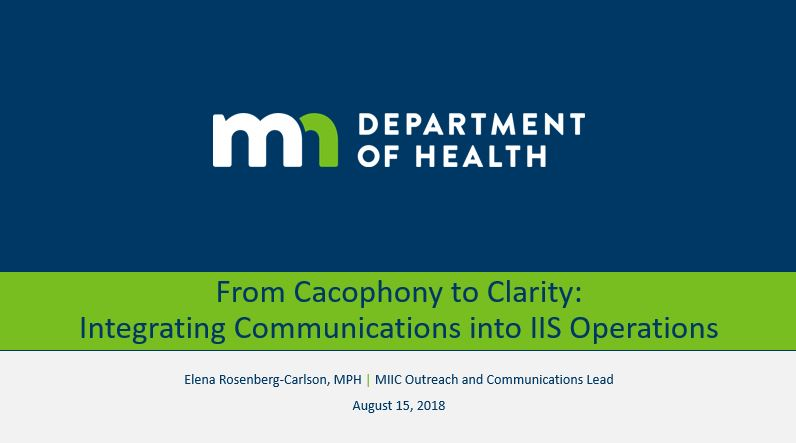 From Cacophony to Clarity: Integrating Communications into IIS Operations