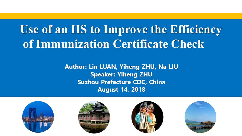 Use of an IIS to Improve the Efficiency of Immunization Certificate Check