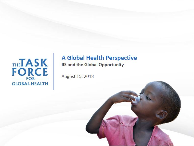 A Global Health Perspective: IIS and the Global Opportunity