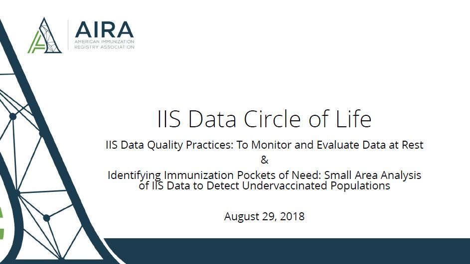 IIS Data Circle of Life