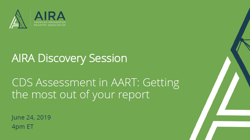 AIRA Discovery Session: CDS Assessment in AART
