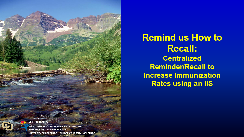 Remind Us How to Recall: Learning Centralized IIS-Based Reminder/Recall