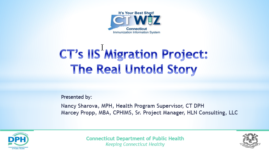 Connecticut's IIS Migration Project: The Real Untold Story