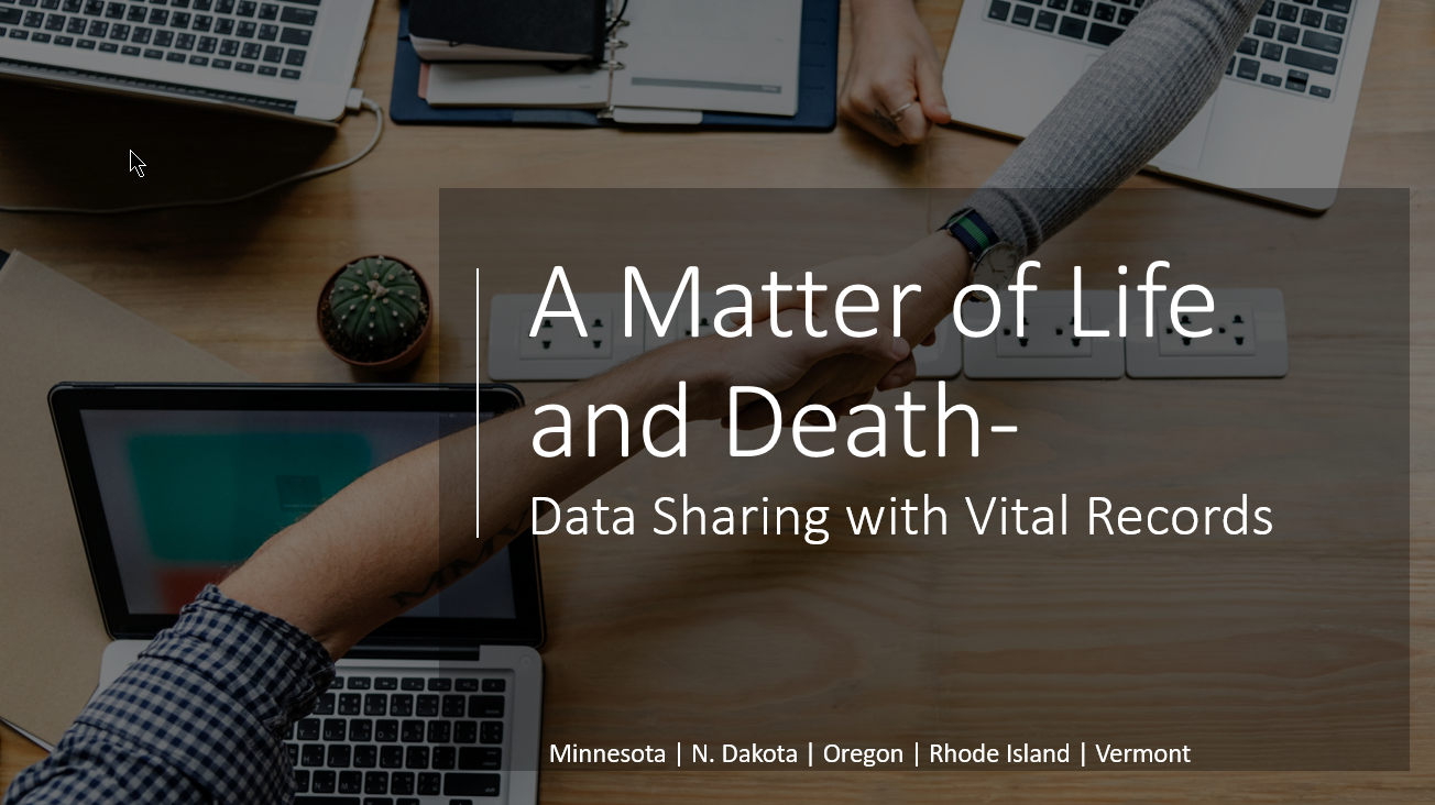 A Matter of Life and Death - Data Sharing Between IIS and Vital Records