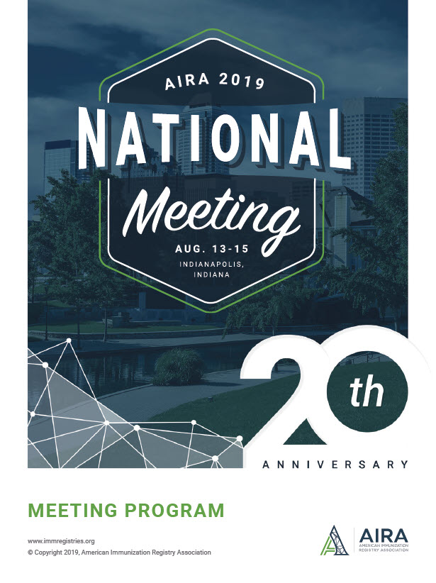 AIRA 2019 National Meeting Agenda